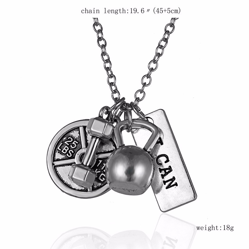 Silver – I Can! Necklace