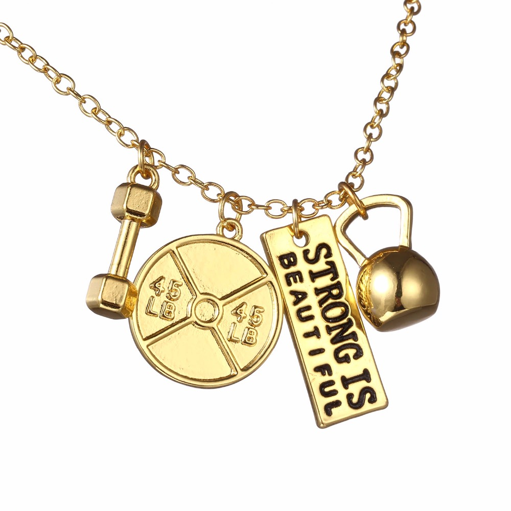 Gold – Strong is Beautiful Necklace