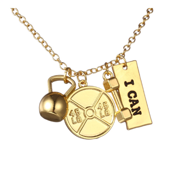Gold Plated – I Can! Necklace